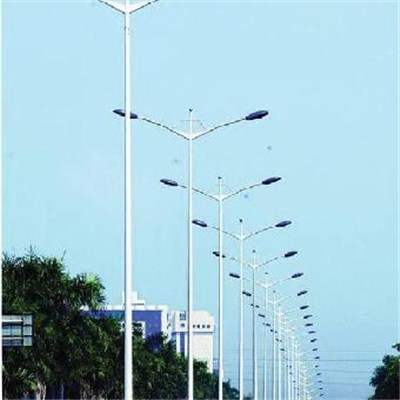Double Arms Lighting Poles
