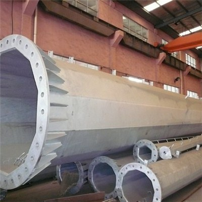 STEEL PIPES WITH FLANGE
