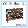 diy shoe rack wood HYX-8858-4B