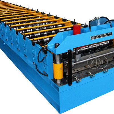 Wall And Roof And Door Panel Roll Forming Machine