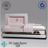18 gauge steel caskets Metal Casket 1829