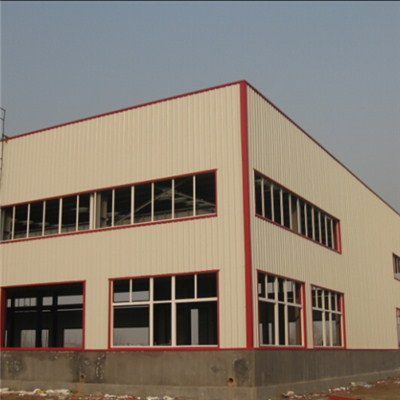 Steel Garment Factory Building