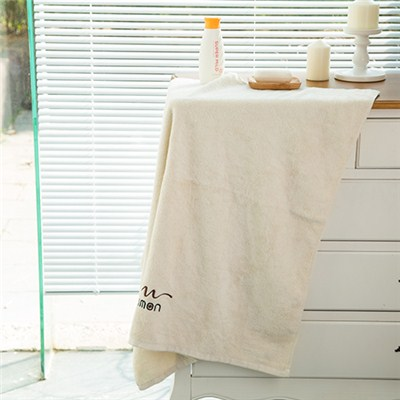 Professional OEM Supply Organic Cotton Bath Towel