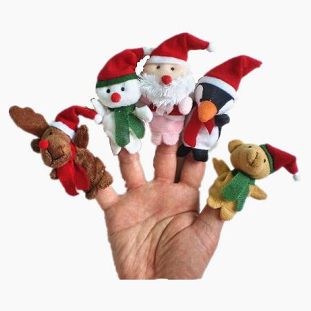 Promotional Cute Felt Finger Puppet