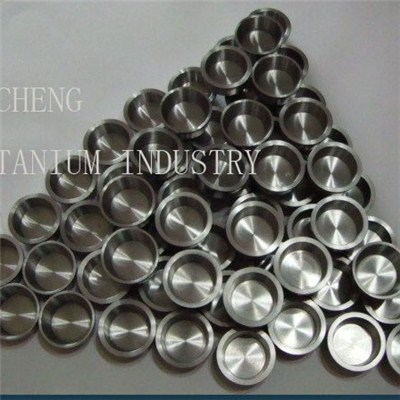 Refractory metals melting use Titanium Crucible