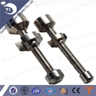 Smoking Accesseries 14 18mm GR2 Threaded Titanium Nail