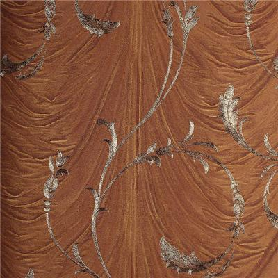 Deep Embossed Scroll Wallpaper