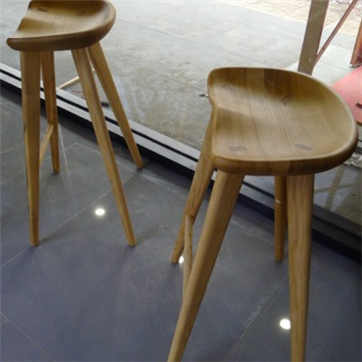 Pair Of Danish Modern Stools