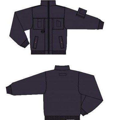 Modacrylic Flame Retardant Work Jacket