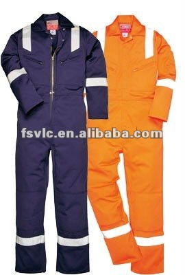 Cotton Nylon Flame Retardant Coverall