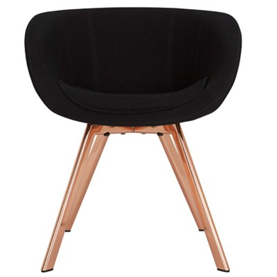 Tom Dixon Scoop Low Copper Chair