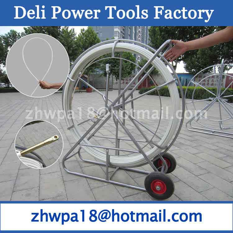 Best quality Fishtape Puller Snake Cable Hauler Duct Road