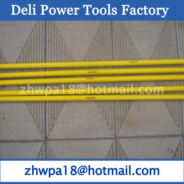 Fiberglass conduit rod reel and Cable installation tools