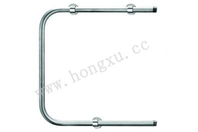 U-shaped chromed radiator