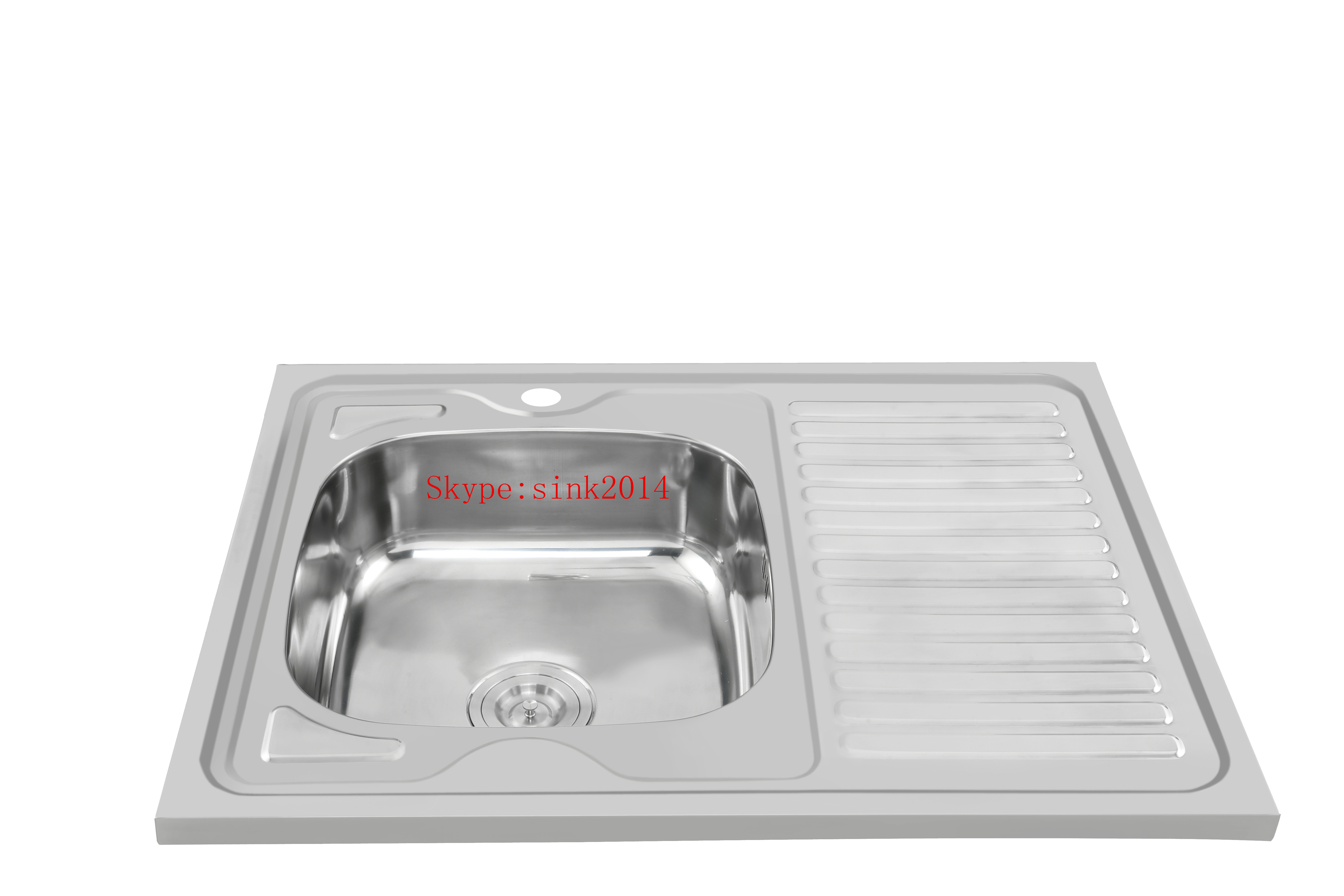 China Factory Suppy Stainless Steel Kitchen Sink WY-8060