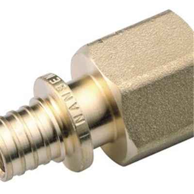 Brass Sliding Fitting Female Straight