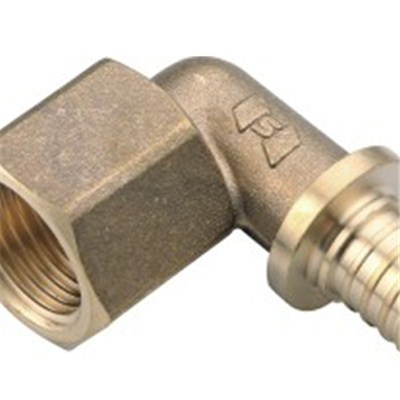 Brass Sliding Fitting Female Elbow