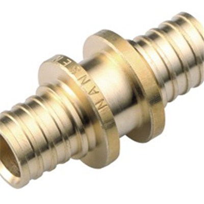 Brass Sliding Fitting Straight Connector