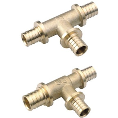 Brass Sliding Fitting Reducing Tee