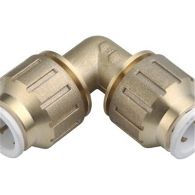 Brass Speedfit Fitting Equal Elbow