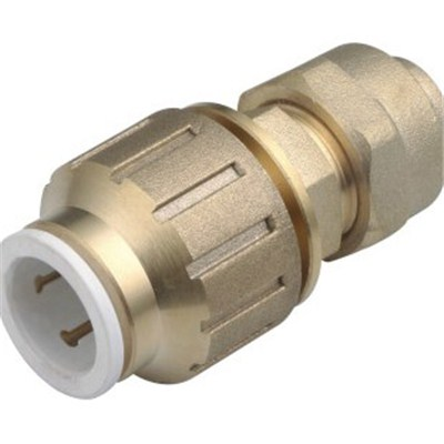 Brass Speedfit Flared Copper Compression Union