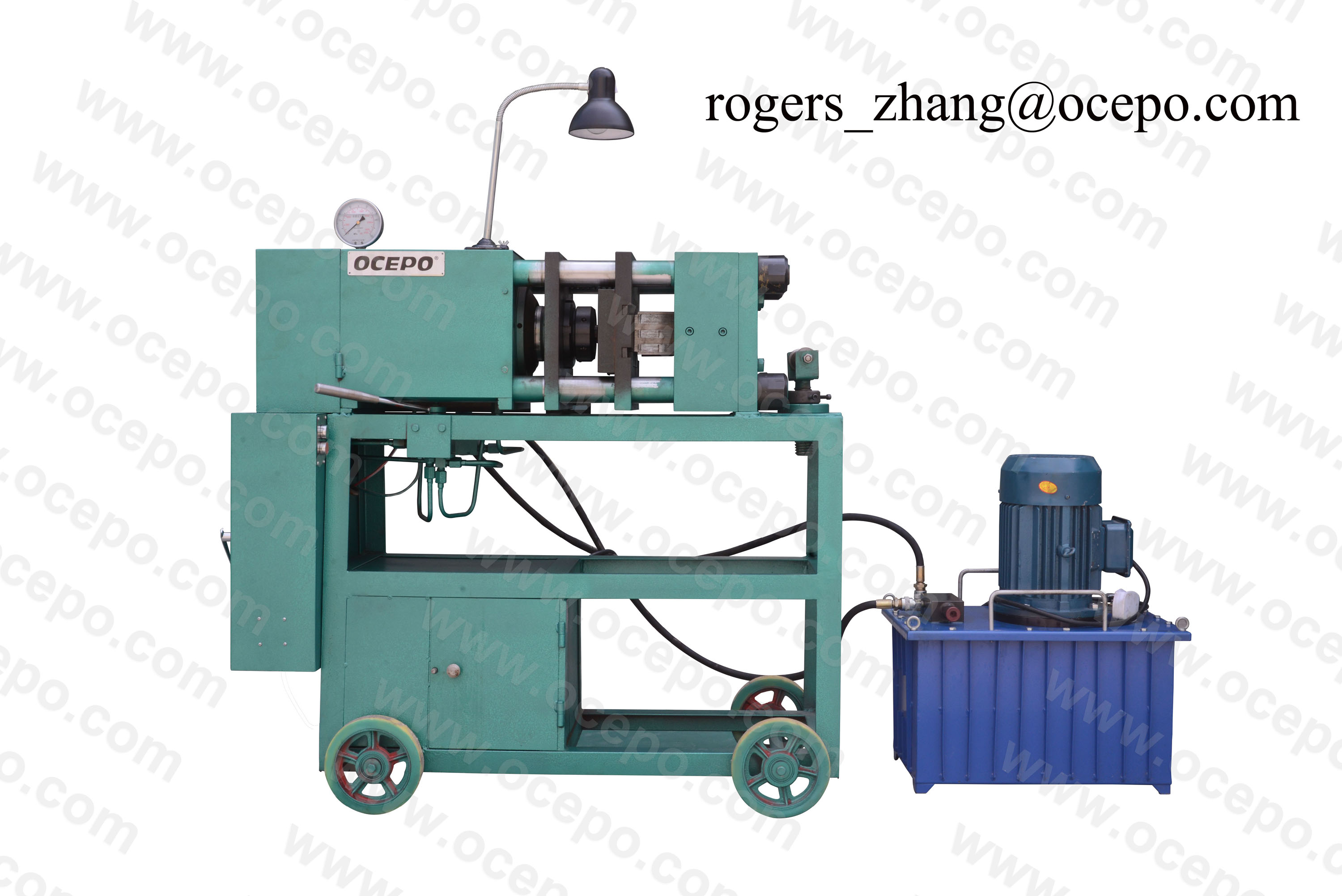 Rebar Upset Forging Machine,GZL-45 Rebar Thread Cutting Machine