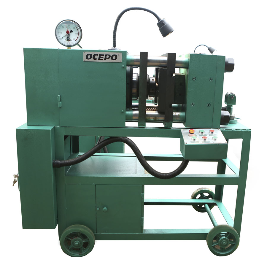 Full-automatic GD-150 Rebar Upset Forging Machine, GZL-45 Rebar Thread Cutting Machine