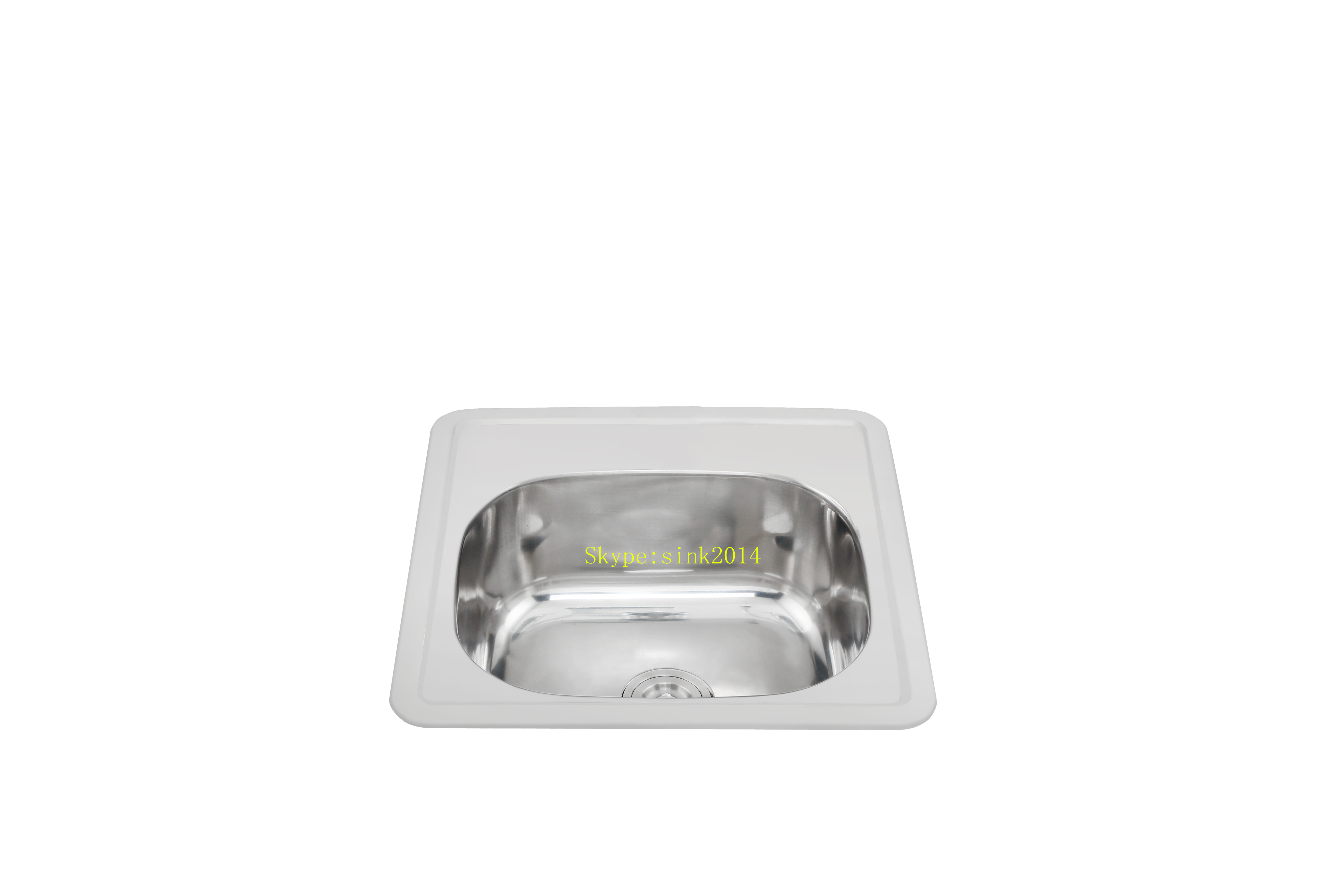 China Factory Suppy Stainless Steel Kitchen Sink WY-4848