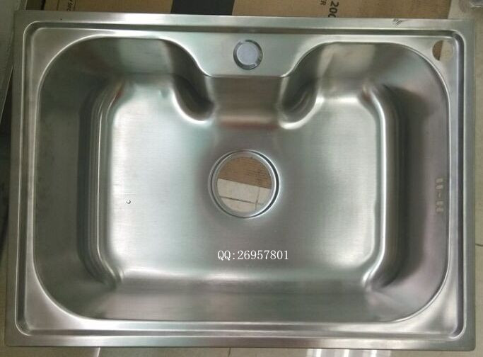 China Factory Suppy Stainless Steel Kitchen Sink WY-6043
