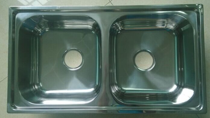 China Factory Suppy Stainless Steel Kitchen Sink WY-7843