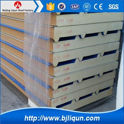 Fireproof Pu Wall Sandwich Panel