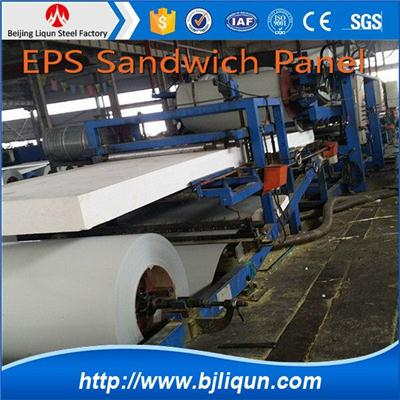 China Easy Insulation Eps Sandwich Panel Manufacturer