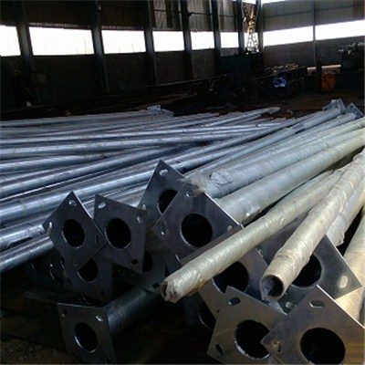 Powder Coated Steel Structure Poles