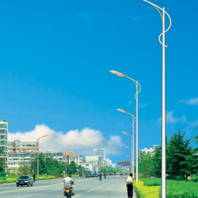 Single Arm Lighting Poles