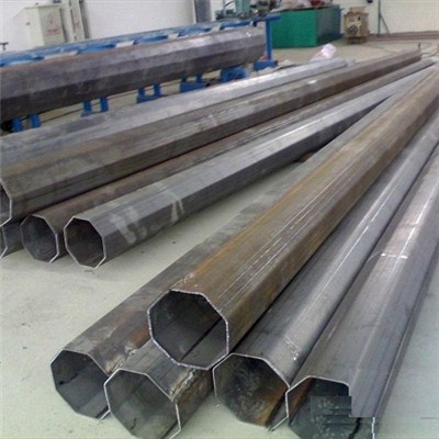 Galvanized Outdoor Polygonal Poles