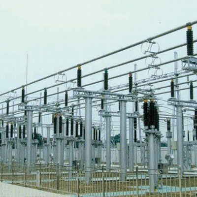 Framework Transformer Electric Substation Poles