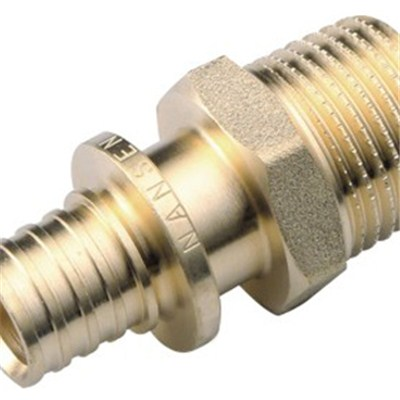 Brass Sliding Fitting Male Straight
