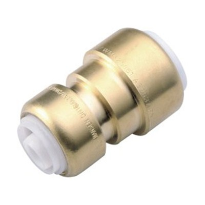 Brass Push-fit Fitting Reducing Straight