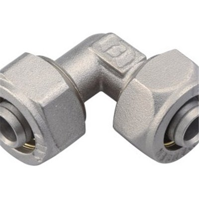 Brass Compression Fitting Equal Elbow