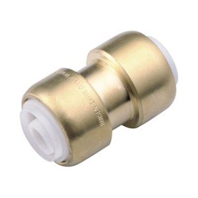 Brass Push-fit Fitting Straight Connector