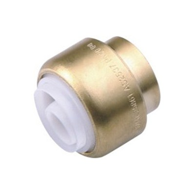 Brass Push-fit Fitting Stopper