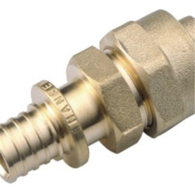 Brass Sliding Flared Copper Compression Union