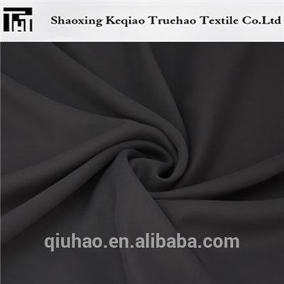 Polyester Black Nida Fabric