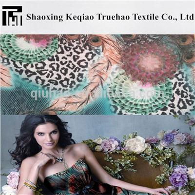 75D Printed Polyester Chiffon Fabric