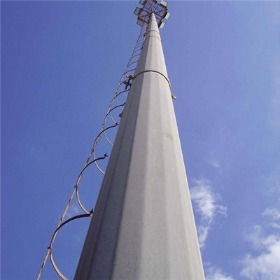 High Mast Stadium Light Tower Poles