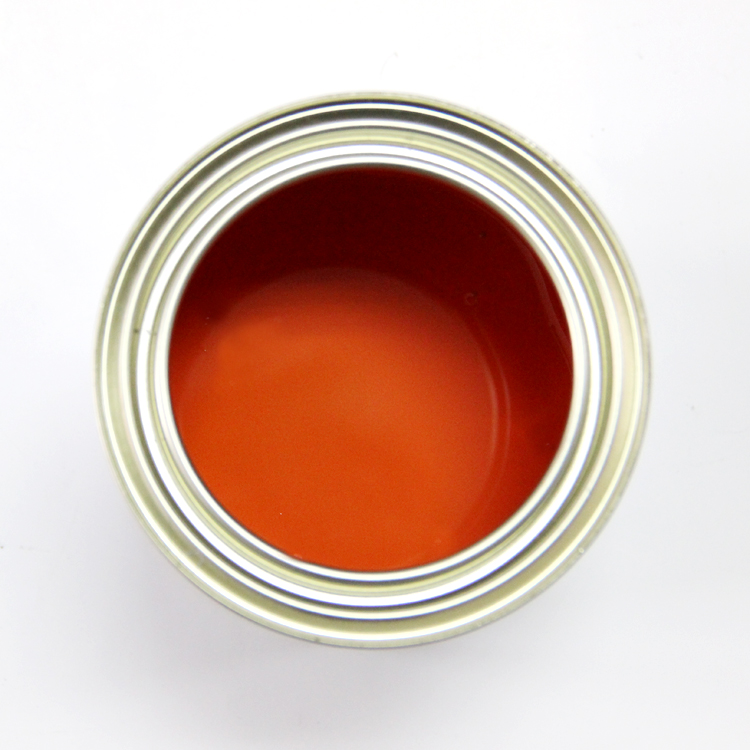 2k Red Color Acrylic Automotive Paint