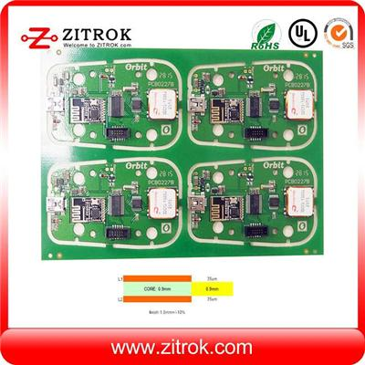 Immersion Gold 2Layer 35um Copper Double-sided PCB Board