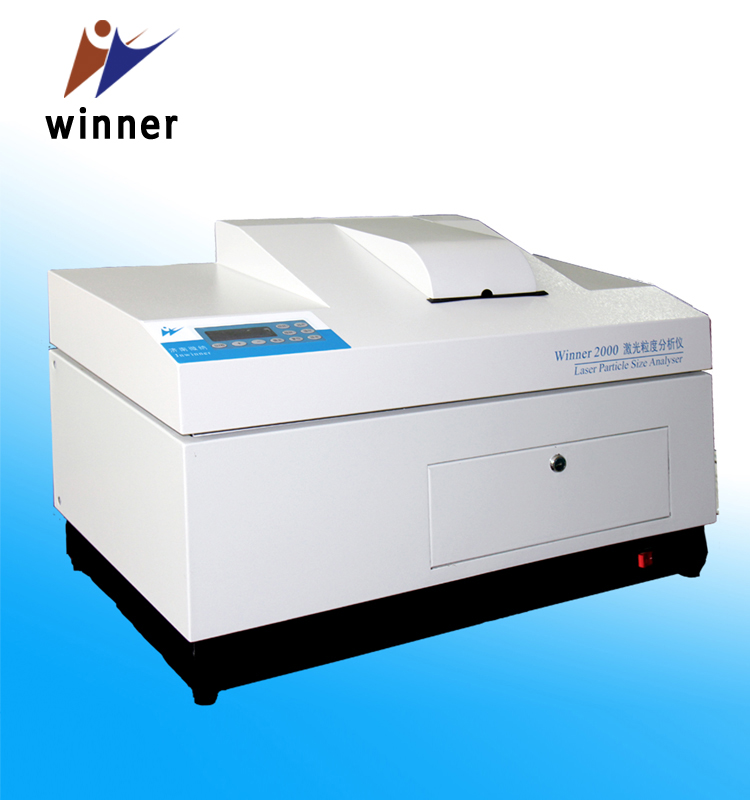 Winner2000E laser particle size analyzer for pigment powder test