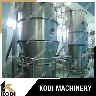 Chocolate Powder Vertical Fluid Bed Dryer FG