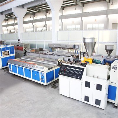 WPC Hollow Board Making Machine